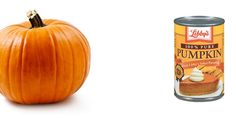 Things you can make with a can of pumpkin