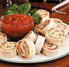 Taco Pinwheels... Happy Hour Appetizers 17 | Hampton Roads Happy Hour be healthy! www.bajadepesoya.areb2u.com www.sindiabetes.areb2u.com