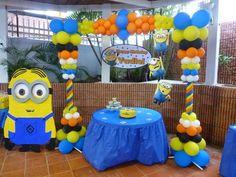 decoracion de cumpleaños de minions - Buscar con Google