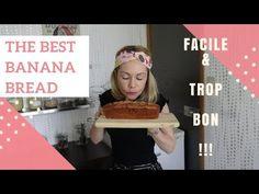 THE BEST BANANA BREAD | Facile, délicieux et sans gluten