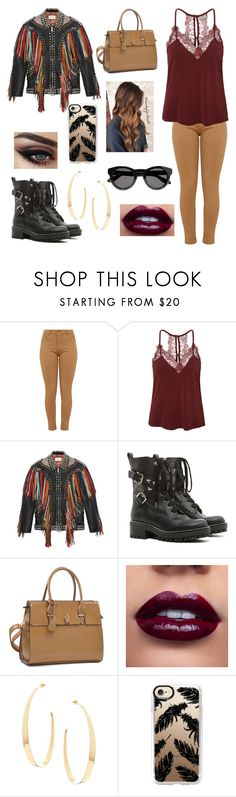 """""""Fringe"""" by b-a-volland ❤ liked on Polyvore featuring Vero Moda, Gucci, RED Valentino, Dasein, Lana, Casetify and Givenchy"""