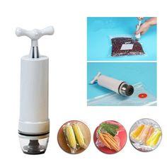 Fecihor Vacuum Sealer, Food Valve Sealer System Hand Pump - 10 BPA Free Food  | Home & Garden, Kitchen, Dining & Bar, Kitchen Storage & Organization | eBay!