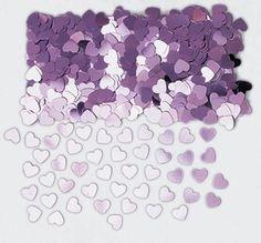 Sydänkonfetti / roosa