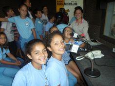 Jornal Sobral: Mais Educação na Oficina de Rádio Escola