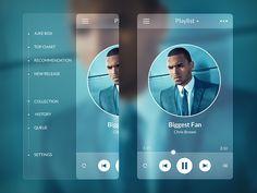 phone music player design - Google Search