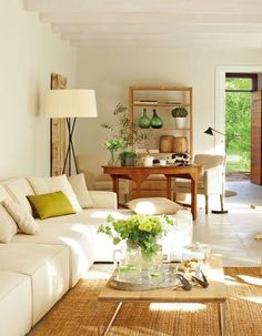 Interior Living Room Design Trends for 2019 - Interior Design New Living Room, Home And Living, Living Room Decor, Living Spaces, Decoration Inspiration, Family Room Design, Home And Deco, Style At Home, Cozy House