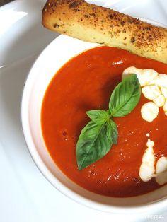 Rezepte mit Herz ♥: Geröstete Tomatensuppe ♡