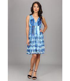 Calvin Klein Calvin Klein  Printed Chiffon Dress Multi Womens Dress for 77.99 at Im in!