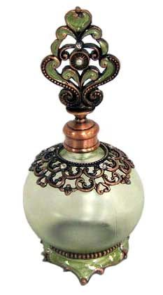 Enameled Perfume Bottle