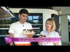 Teo Show (05.10.2018) - Cum preparam prajitura Pavlova ca la cea mai buna patiserie? - YouTube Pavlova, Youtube, Youtubers, Youtube Movies