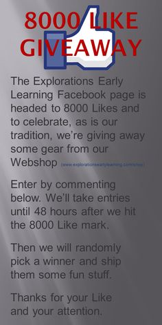 Facebook Likes, Facebook Sign Up, Early Learning, Explore, Preschool, Education, Early Education, Learning, Kindergarten