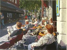 De Bommel, Breda Times Square, Street View, Van, Travel, Painting, Viajes, Vans, Painting Art, Destinations