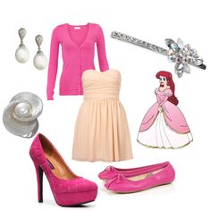 The Little Mermaid part 3. :) Love the shoes of course. :)