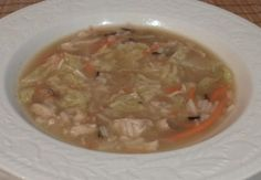 Asian Chicken and Rice Soup Recipe - site about intentional leftovers/eating frugally-frugal vegetarian recipes with occasional meat. Saw some interesting recipes here.