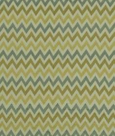 Robert Allen Precise Stitch Topaz Fabric, linen and viscose rayon, $71.20 per yard