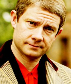 Some men are like wine. They are more attractive when they get older, the greying hair, the crow's feet. And Martin Freeman is one of them