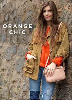 #simple-et-chic #bloggerstyle #orange #chic