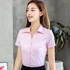 Women's Tops and Blouses Cotton Women Shirts Solid Women Blouses Short – moonaro