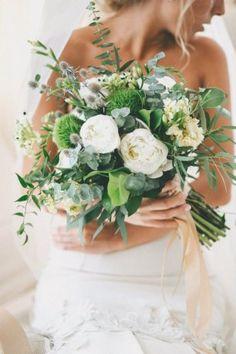 Нежный эко - букет невесты