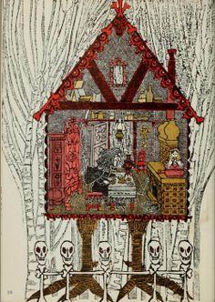 Ernest Small, Baba Yaga (1966) Illustrations by Blair Lent. Ernest Small was a pseudonym for Blair Lent