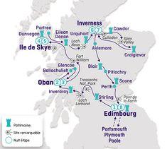 Circuit voiture en Angleterre, Ecosse, la route des châteaux, terres de légendes & Skye - Brittany Ferries - Brittany Ferries