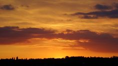 Stunning sunset over Birmingham
