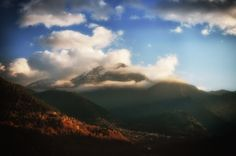 Το βουνό της Καλιακούδας και το Μεγάλο Χωριό, Ευρυτανία Mount Kaliakouda & Megalo Chorio, Evritania, Greece