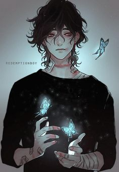 redemption boy by sayuuhiro on DeviantArt Boy Character, Fantasy Character Design, Character Concept, Character Inspiration, Black Hair Anime Guy, Black Hair Boy, Black Haired Anime Boy, Deviantart, Anime Ghost