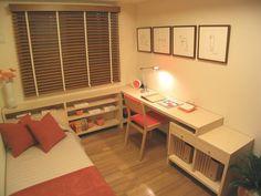 子ども部屋は必要でしょうか? - 住宅設計・構造 - 専門家プロファイル Korean Bedroom Ideas, Room Ideas Bedroom, Simple Modern Interior, Japanese Bedroom, Small Room Organization, Room Interior, Interior Design, Small Room Decor, Small Space Living