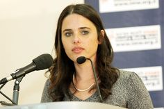 "Earlier this week Israeli politician, Ayelet Shaked [pictured above], wrote in a controversial Facebook post, ""all Palestinians are our enemies...Israel should declare war on the entire [Palestinian] people, including its elderly and its women, its cities and its villages, its property and its infrastructure."""