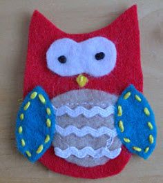 Put some felt owl patches on those wholes in your young ones clothes.