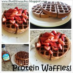 That Fitness Chic: Chocolate Protein Waffles!!!