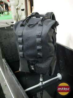 chrome knurled welded waterproof bag