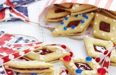 Jammy Jubilee diamonds recipe.