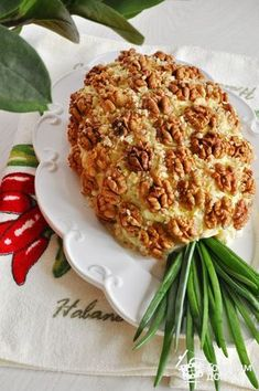 """Salad """"Pineapple"""" – a step by step recipe with photos on Cooking at home – About Holiday Parties Food Carving, Food Garnishes, Food Decoration, Food Crafts, Food Humor, Food Design, Salad Design, Creative Food, Food Presentation"""