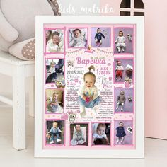 Birthday Decorations, Happy Day, Baby Pictures, Bubbles, Banner, Invitations, Frame, Poster, Kids