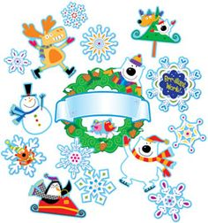 Welcome Winter Bulletin Board set from Creative Teaching Press