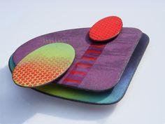 Artwork - RUTH BALL enamel - fabulous design...