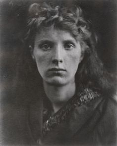 LULIA MARGARET CAMERON: The Mountain Nymph, Sweet Liberty, 1866. Albumen silver print from glass negative.  14 3/16 x 11 1/4 in. (36.1 x 28.6 cm). Met, N.Y. Cameron did beautiful psychological portrait studies. LINK to read more.