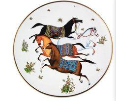 designer dinner plate luxury brand plate bone china ceramic plate-in Crafts from Home & Garden on Aliexpress.com