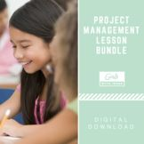 Project Management Lesson Bundle -- teach girls how to execute a project and learn leadership skills! Team Builders, Activities For Girls, Raising Girls, Student Council, Community Manager, Project Management, Social Skills, Getting Things Done, Life Skills