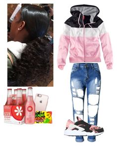 """""""🌸"""" by liluzisluts ❤ liked on Polyvore featuring H&M, NIKE and Casetify"""
