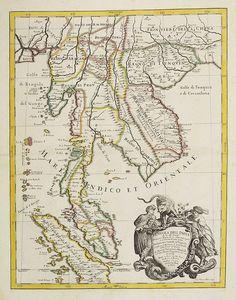 DE ROSSI, G. -  Penisola dell India di là dal Gange. . .