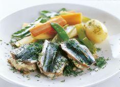 Kyllästyttääkö uunilohi? 3 uutta kalaruokaideaa, jotka vievät kielen mennessään! Spanakopita, Culinary Arts, Tuna, Green Beans, Nom Nom, Recipies, Pork, Fish, Meat