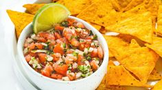From classic, fresh tomato salsa to bold twists like bacon-jalapeno and rainbow fruit, these easy and simple salsa recipes have your back for any dipping need.