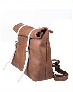 www.sacks.co.il #sack's #leather #bags #brown #white