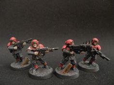 Guardsmen, Imperial, Red