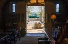 Inglenook - Enjoy wine and espresso at Inglenook in The Bistro, Luxury Napa Valley Experience