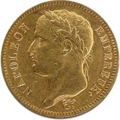 40 Francs Francais, Napoleon I., mixed years