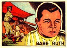 Japanese Babe Ruth Card (1948)